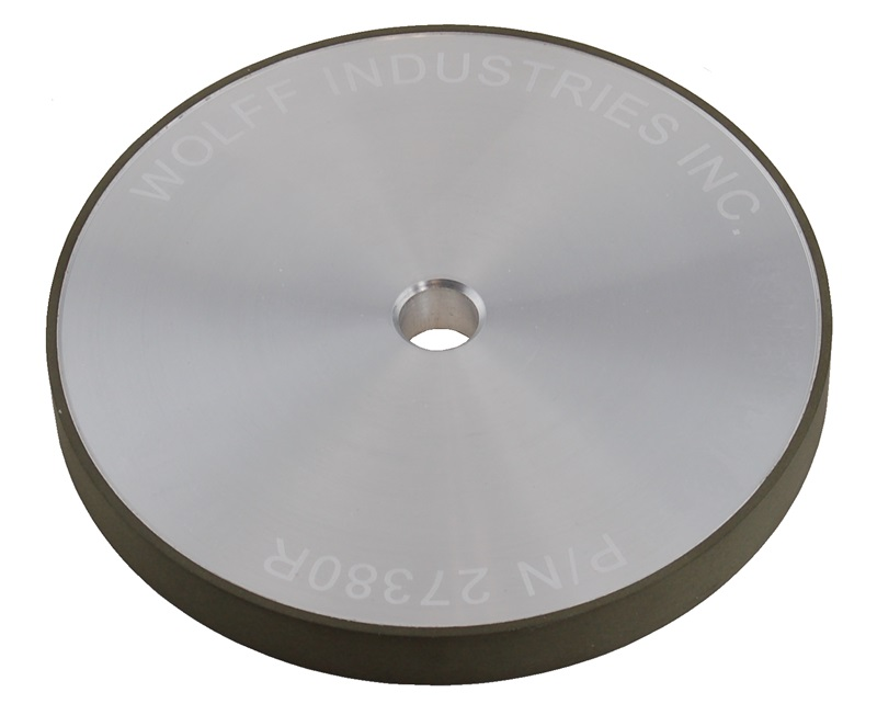 Wolff Industries 800 Grit Diamond Wheel for Twice As Sharp