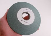"Type 12 Dish Grinding Wheel 6""  80 Grit Green Silicon"