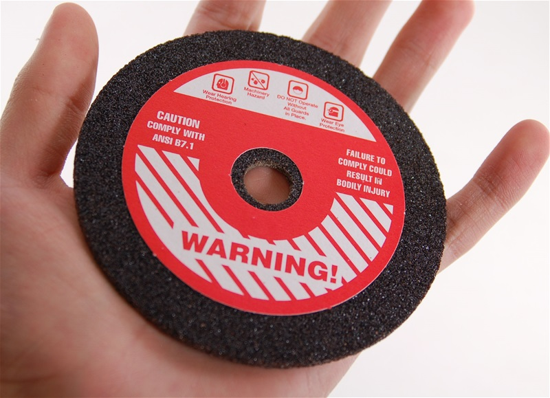 "4"" x 1/8"" Chainsaw Grinding Wheel 46 Grit"