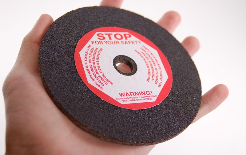 "5"" x 3/16"" Chainsaw Grinding Wheel 60 Grit"