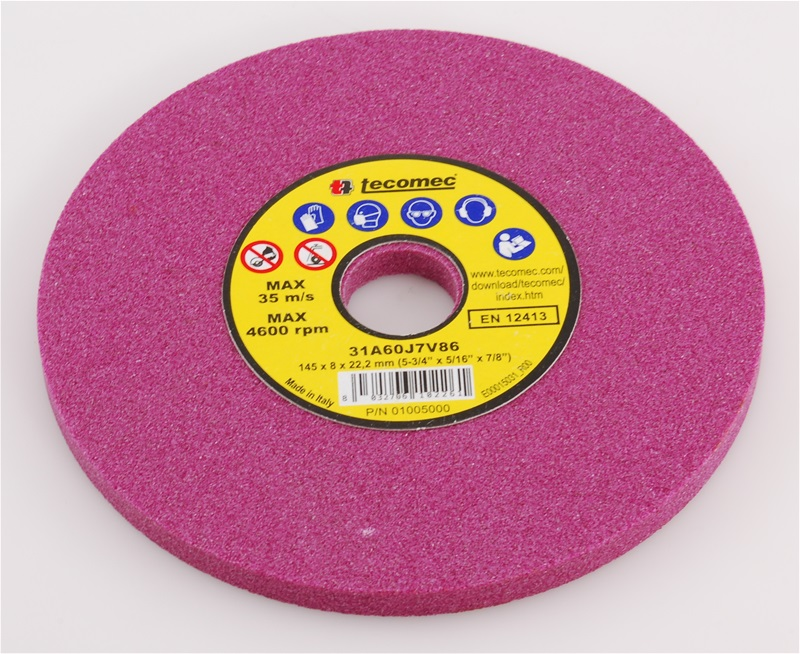 "5-3/4"" x 5/16"" Chainsaw Grinding Wheel 60 Grit"
