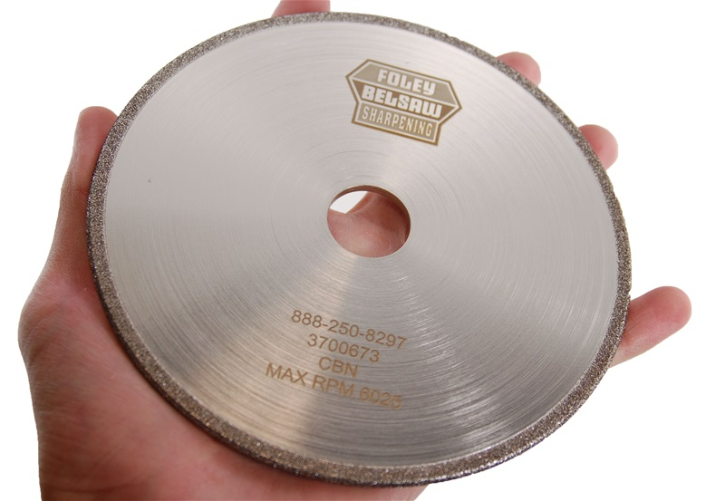 "CBN Plated 5-3/4"" x 1/8"" Chainsaw Grinding Wheel"