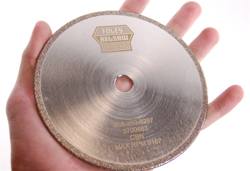 "CBN Plated 5"" x 1/8"" Chainsaw Grinding Wheel"