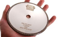 "CBN Plated 5"" x 3/16"" Chainsaw Grinding Wheel"