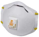 Dust and Mist Respirator with Exhale Valve