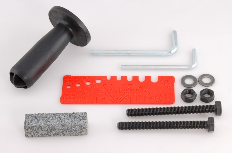 Accessory Package for Speed Sharp Chainsaw Sharpeners