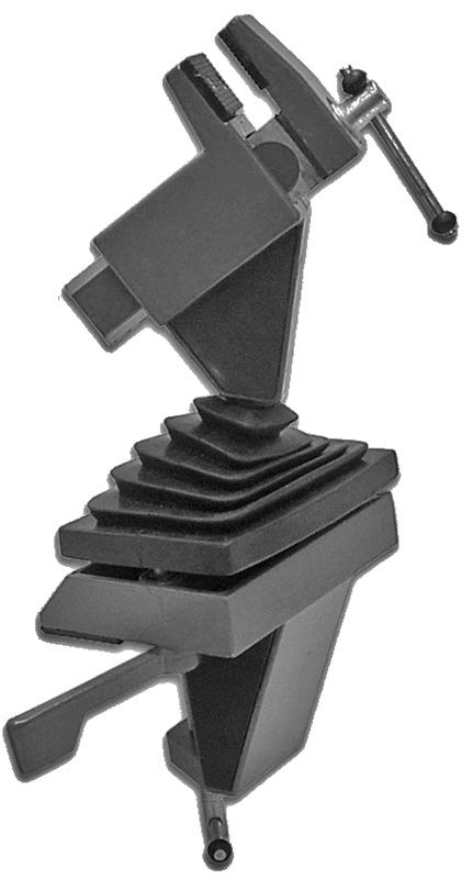 Multi Angle Swivel Vise With Clamp Mount