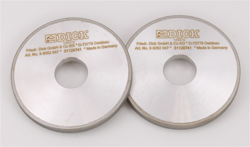 Diamond Grinding Wheels for F. Dick RS-75 and RS-150 Duo