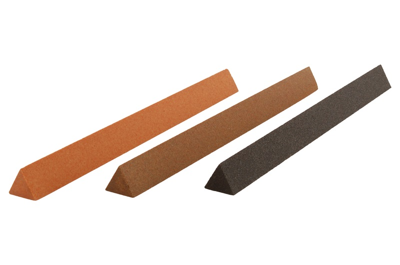 "Aluminum Oxide 6"" x 1/2"" Triangle File"