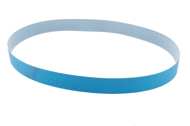 "1"" x 30"" Blue Graded Micron Finishing Belt"