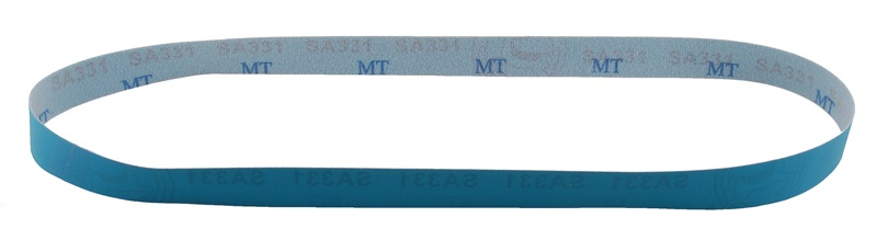 "1"" x 42"" Blue Graded Micron Finishing Belt"