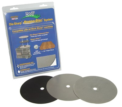 DMT Magna-Disc Sharpening Kit
