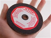 "4"" x 3/16"" Chainsaw Grinding Wheels 46 Grit Box of 5"