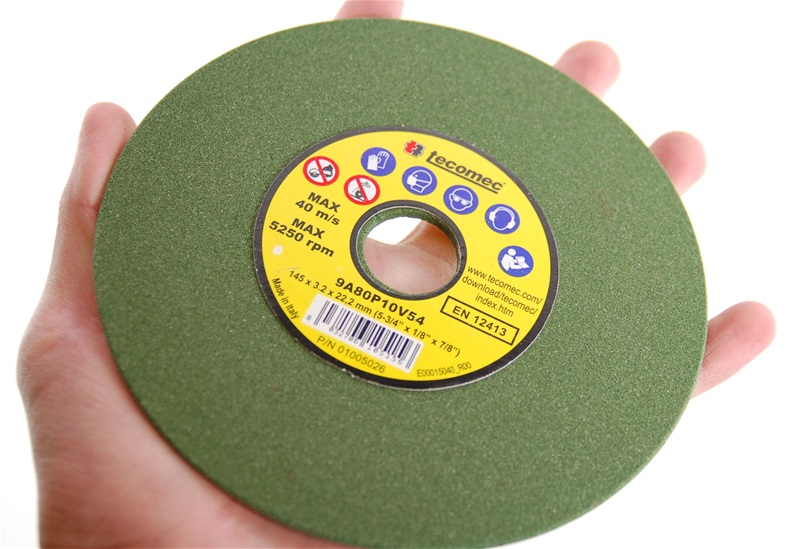 "5-3/4"" x 1/8"" Chainsaw Grinding Wheels 60 Grit Box of 5"
