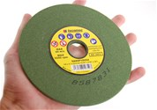 "5-3/4"" x 3/16"" Chainsaw Grinding Wheels 60 Grit Box of 5"