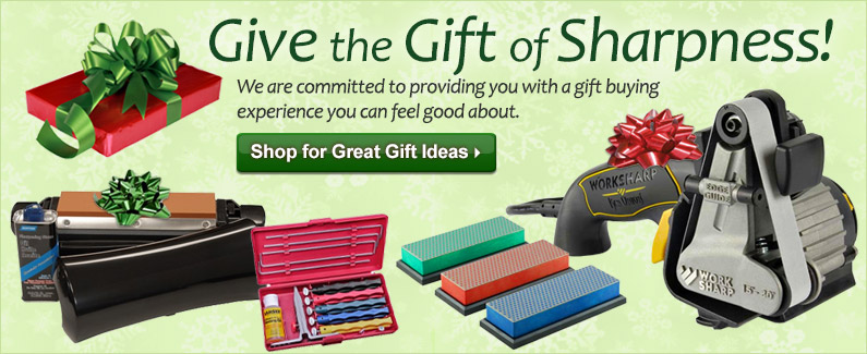 Give the Gift of Sharpening