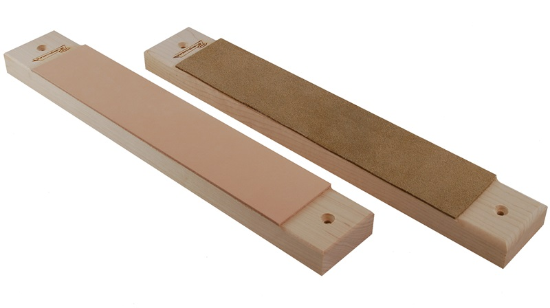 "10"" Leather Bench Mountable Strop"