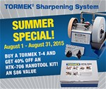 Tormek T4 and Handtool Kit Special
