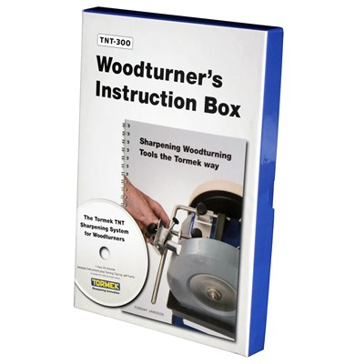 Tormek Turners Instruction Box