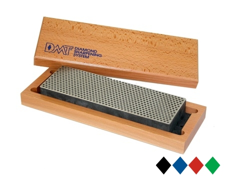 "DMT 8"" Diamond Whetstone with Wood Case"