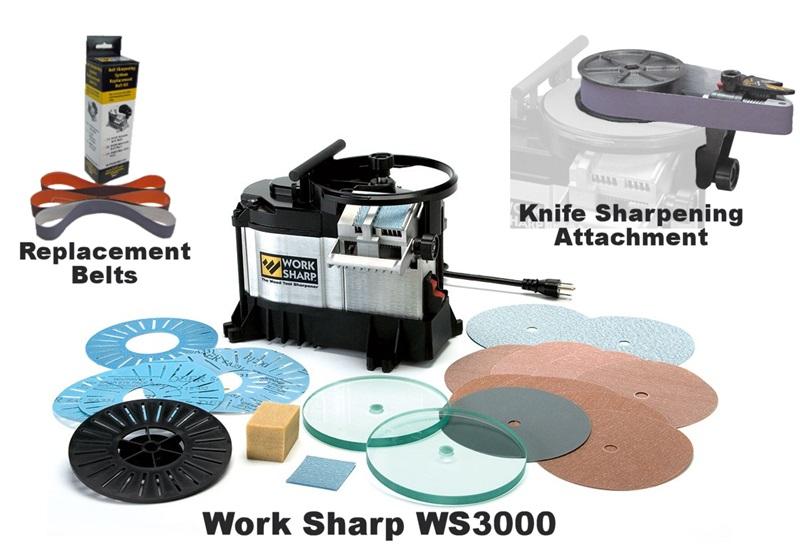 Work Sharp WS3000 Wood Tool Sharpener