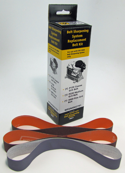 WS3000 Knife Sharpening Attachment Abrasive Kit