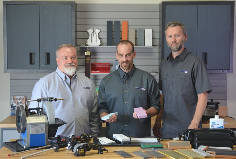 Sharpening Specialists Answer Sharpening Questions
