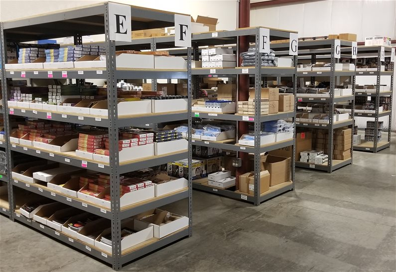 Sharpening Warehouse Inventory
