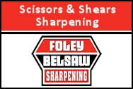 Scissors & Shears Sharpening