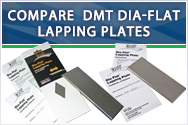 Compare DMT Dia-Flat Lapping Plates