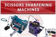 Scissors Sharpening Machines