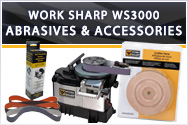 Work Sharp WS3000 Abrasives and Accessories