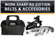 Work Sharp Ken Onion Edition Belts and Accessories