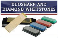 DuoSharp and Diamond Whetstones