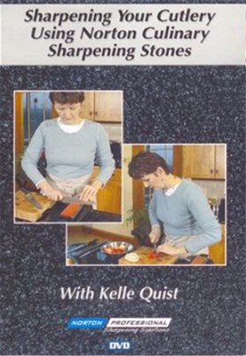 Sharpening Your Cutlery Using Norton Culinary Sharpening Stones DVD