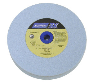 Norton 3X Blue Grinding Wheel K Grade