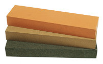 "Norton India Bench Stone 8"" x 2"" (Medium)"