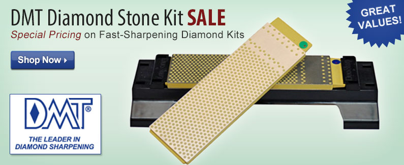 DMT Diamond Stone Kit SALE