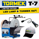 Free Tormek Hat & Magnetic LED Lamp