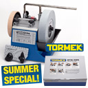Purchase a Tormek T-4 and get 40% off the Handtool Kit