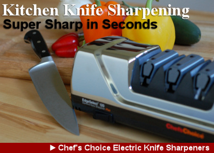 Chef's Choice Kitchen Knife Sharpener