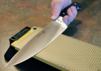 Sharpening Kitchen Knives with Stones