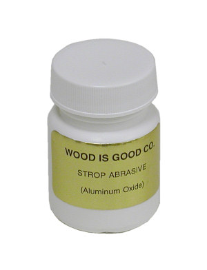 Wood is Good Aluminum Oxide Strop Abrasive