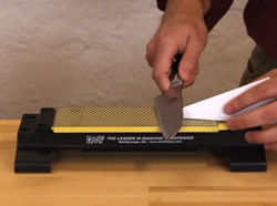 Finding 20 Degree Angle to Sharpen Knives - Video