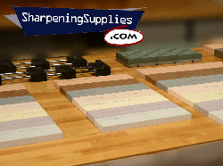 Sharpening Suppplies Water Stone Comparison - Video