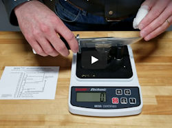 Demonstrating the Edge On Up Sharpness Tester  - Video