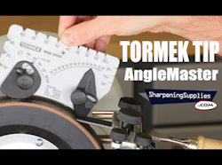 Tormek Tip - Marking the Anglemaster - Video