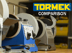 Comparing the Tormek T8, T4 and T2 - Video