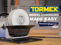 Tormek Tip - Changing The Grindstone - Video