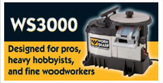 WorkSharp WS3000 - Designed for pros, heavy hobbyists, and fine woodworkers